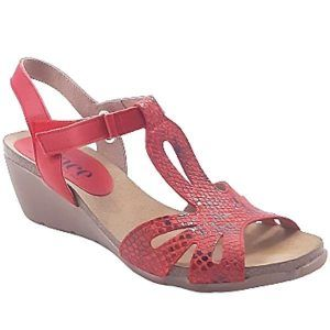 Lince sandalias rojo